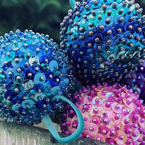 DIY Sequin Ornament Kit 4