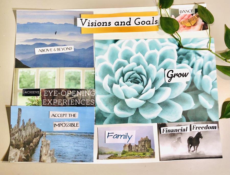 Vision Board – Step 8