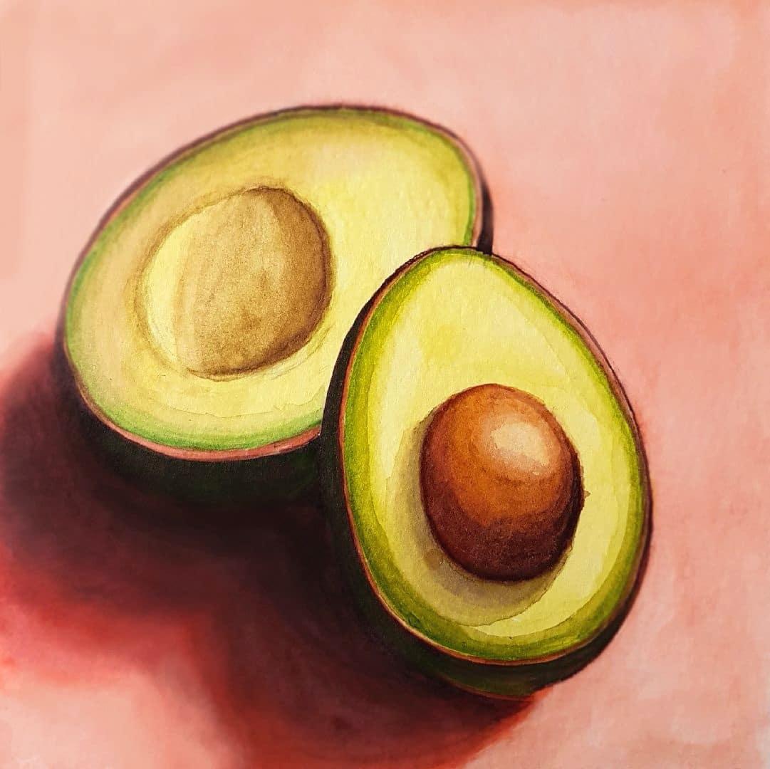 Avocado Painting