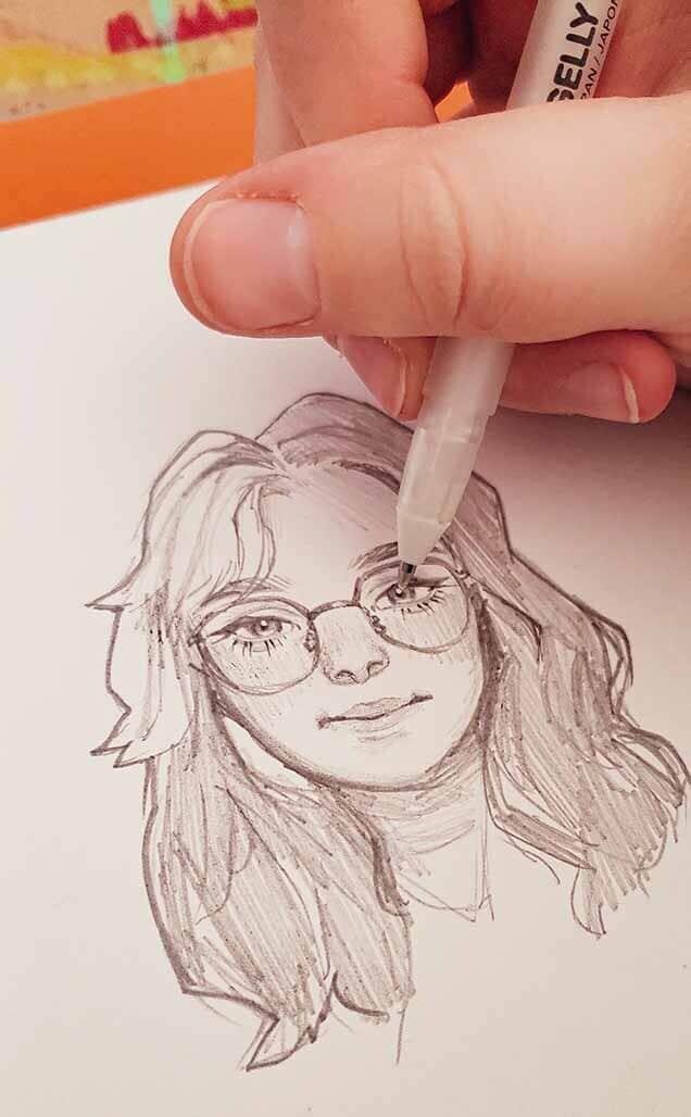 Selfie Cartooning