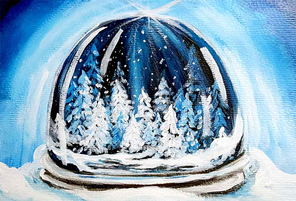 Snow Globe Forest for website