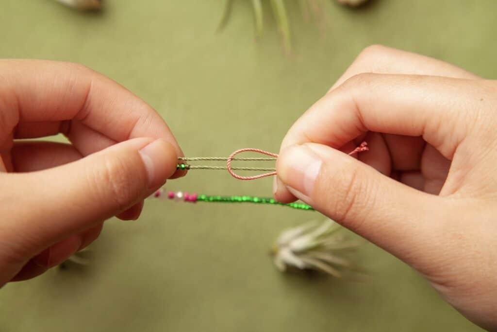 Step 8 Adjustable Knotting Technique