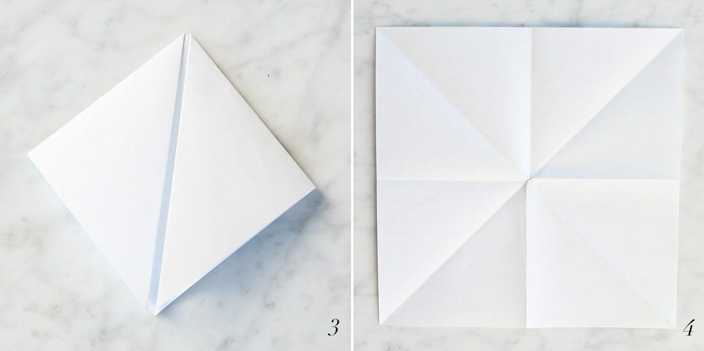 How to Create a Pinwheel | Step 3 and Step 4