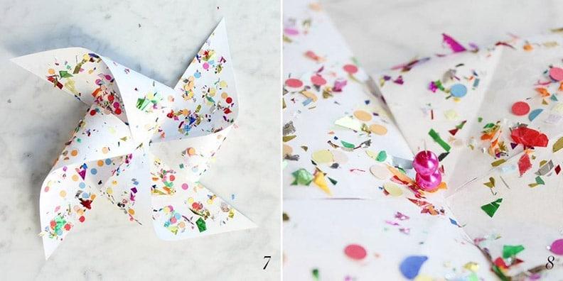 How to Create a Pinwheel | Step 7 and Step 8