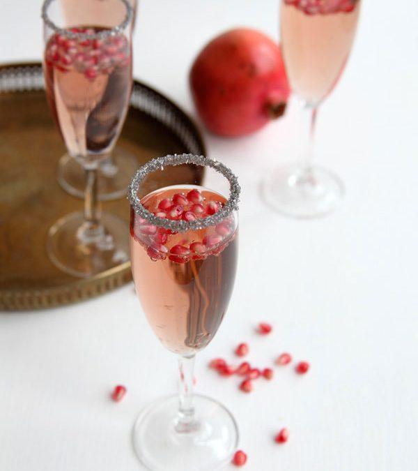 Pomegranate Champagne New Years Recipe