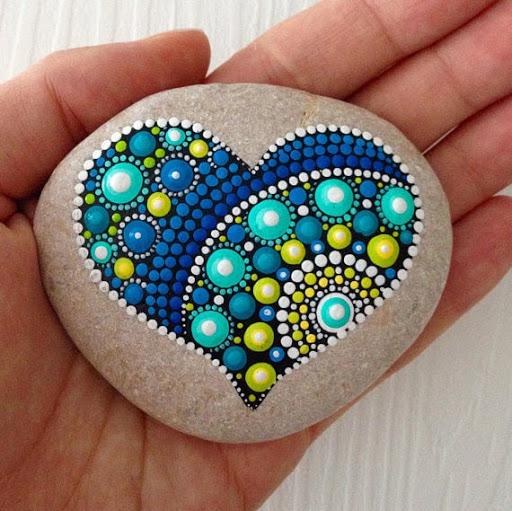 Heart on Rock