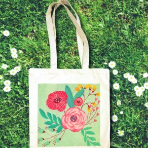Flowers on Bag