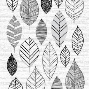 Hand Drawn Leaves