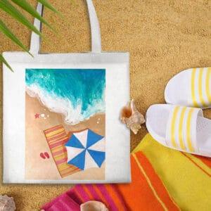 Beach on Bag