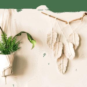 Macrame Feather update