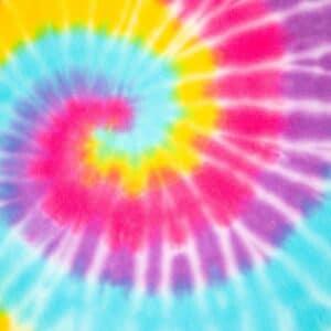 Rainbow Pastel Tie Dye
